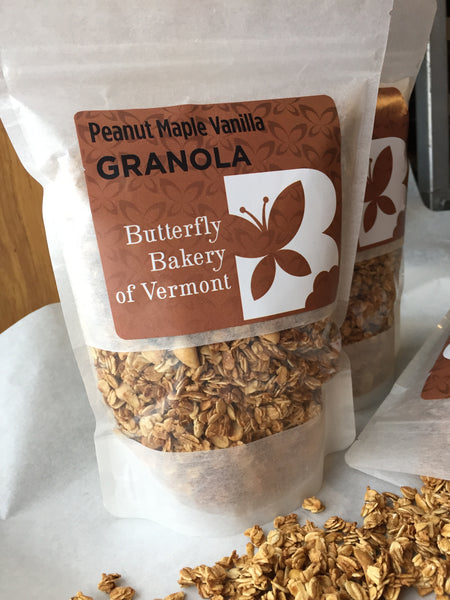 Peanut Maple Vanilla Granola - Bulk and Retail