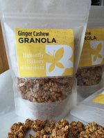 Ginger Cashew Granola - Bulk and Retail