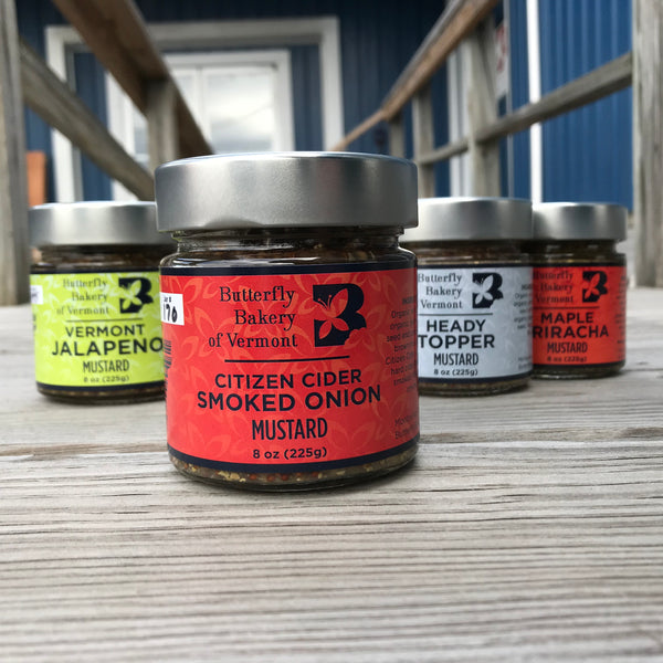 Citizen Cider Smoked Onion Mustard - Case of 12