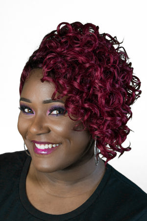 Zury Sis, pre-tweezed part, Diva Collection, Kayla, spiral curls