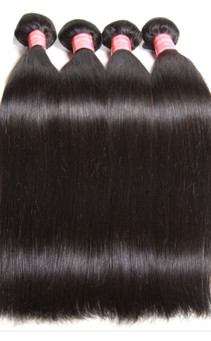 8A, Brazilian Silky Straight Hair Extensions