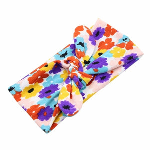 Children Bohemian fashion hair accessories printed