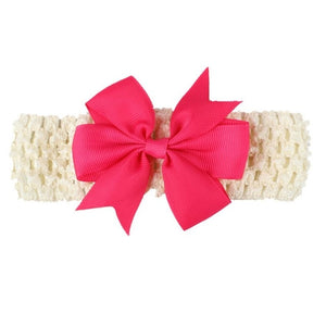 Fashion baby kids Girls Headbands lovely Bowknot