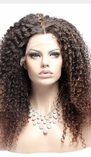 Kinky Curly Synthetic Lace Front