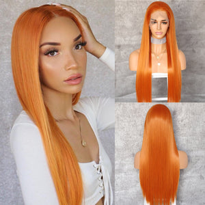 13x6 Big Lace Free Part Synthetic Lace Front Wig