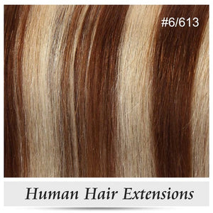 Clip In Human Hair Extensions Straight Full Head Set 7pcs 100g Machine Made Remy Hair Clip Ins 100% Human Hair Extension