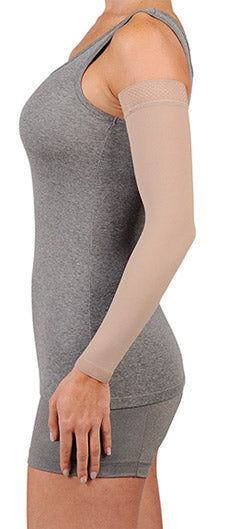Juzo Soft Arm Sleeves (2001CGSB), 20-30 mmHg, Silicone Band