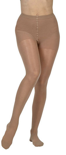 Juzo Naturally Sheer (2101ATFF), 20-30 mmHg, Waist High, Closed Toe