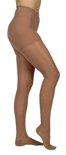 Juzo Naturally Sheer (2101AT), 20-30 mmHg, Waist High, Open Toe