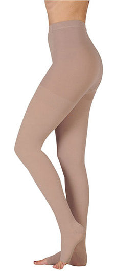 Juzo Dynamic (3512ATFL), 30-40 mmHg, Waist High, Fly, Open Toe