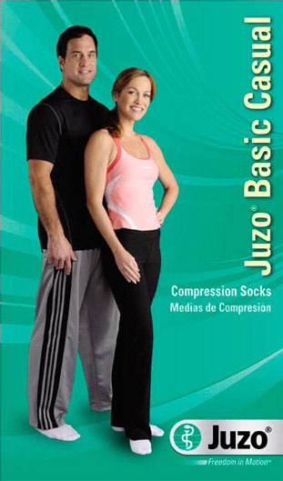 Juzo Basic Casual (4700AD), 15-20 mmHg, Knee High