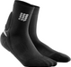 Pair of CEP Achilles support socks with silicone pad placed at the achilles for added protection