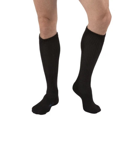 Jobst SensiFoot, 8-15 mmHg, Knee High | Black Sensifoot Socks | Compression Care Center