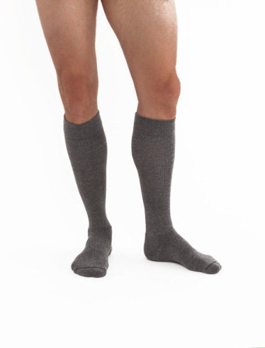 Jobst ActiveWear, 15-20 mmHg, Knee High, Closed Toe | Blue Compression Stocking | Compression Care Center