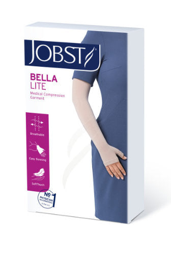 Jobst Bella Lite (1 Piece) Armsleeve and Gauntlet, 15-20 mmHg, Silicone Option