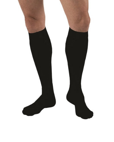 Jobst forMen, 15-20 mmHg, Knee High, Closed Toe | Black Jobst Stockings | Compression Care Center