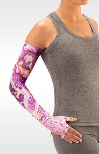 Juzo Marble Purple Compression Armsleeve