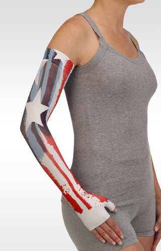 Juzo Stars and Stripes Compression Armsleeve