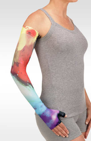 Juzo Watercolor Multi Burst Compression Armsleeve