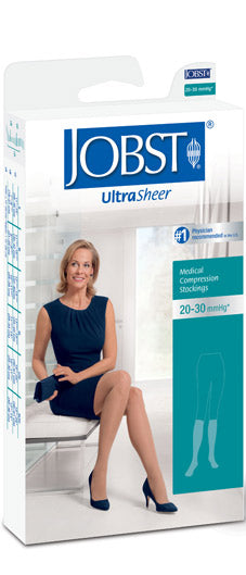 Jobst Ultrasheer, 30-40 mmHg, Knee High, Closed Toe