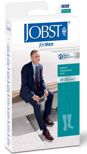 Jobst for Men 20-30 mmHg Retail Packaging