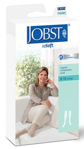 Jobst soSoft, 8-15 mmHg, Knee High, Ribbed
