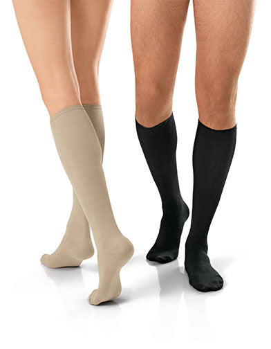 Jobst Travel Sock, 15-20 mmHg, Knee High, Closed Toe
