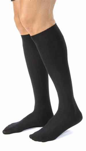 Jobst forMen Casual, 15-20 mmHg, Knee High, Closed Toe
