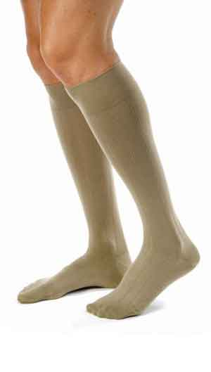 Jobst forMen Casual, 20-30 mmHg, Knee High, Closed Toe