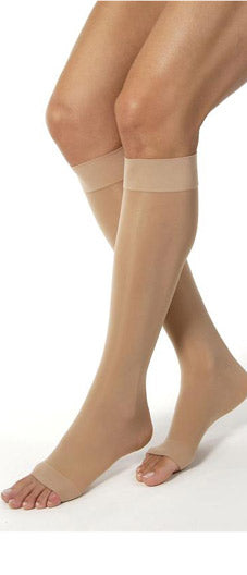 Jobst Ultrasheer, 15-20 mmHg, Knee High, Open Toe