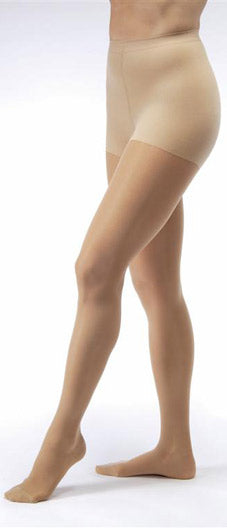 Jobst Ultrasheer, 15-20 mmHg, Waist High, Closed Toe
