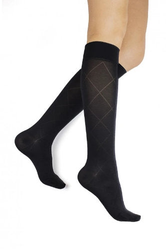 Mediven Rejuva Sheer Diamond, 15-20 mmHg, Knee High, Closed Toe