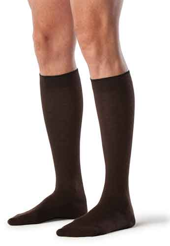 Sigvaris 192C All-Season Merino Wool for Men, 15-20 mmHg, Knee High, CT