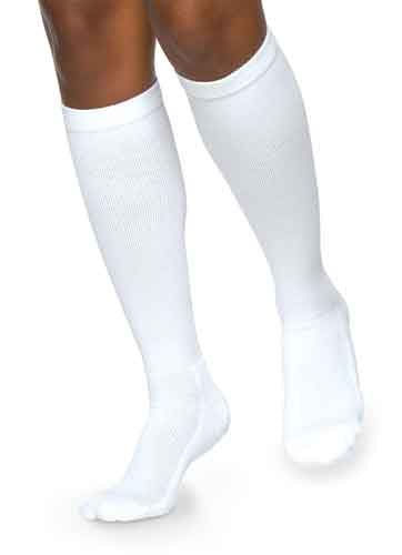Sigvaris 362C Cushioned Cotton for Women, 20-30 mmHg, Knee High, CT