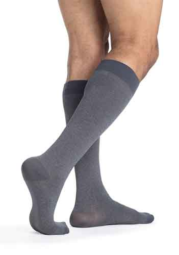 Sigvaris 832C Microfiber Patterns (Heather), 20-30 mmHg, Knee High