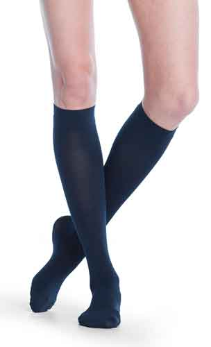 Sigvaris 842C Soft Opaque, 20-30 mmHg, Knee High, Closed Toe