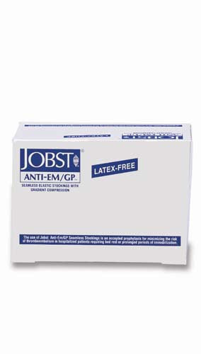 Jobst Anti-Em Stockings, 18 mmHg, Thigh w/Inspection Window (6 Pair)