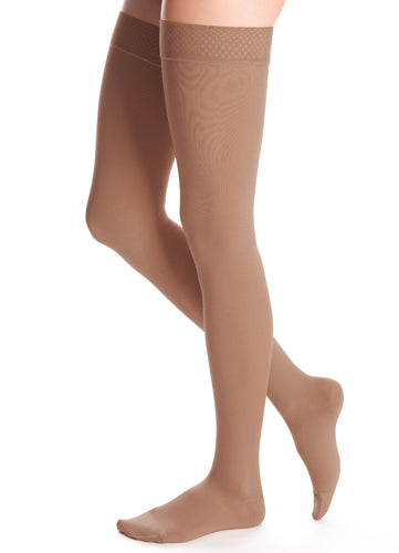 Duomed Advantage, 20-30 mmHg, Thigh High, Closed Toe