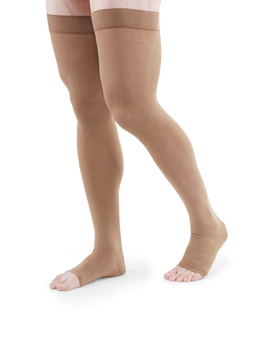 Duomed Advantage, 30-40 mmHg, Thigh High, Open Toe