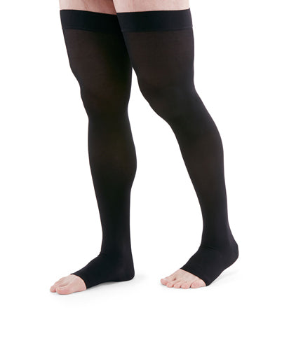 Duomed Advantage, 15-20 mmHg, Thigh High, Open Toe