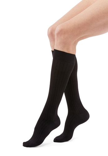 Duomed Freedom Socks, 20-30 mmHg, Knee High, Closed Toe