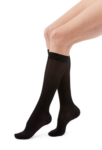 Mediven Duomed Transparent, 15-20 mmHg, Knee High, Closed Toe