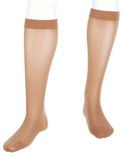 Mediven Assure Stocking, 20-30 mmHg, Knee High, Extra-wide Calf, Closed Toe