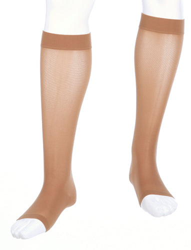 Mediven Assure Stocking, 30-40 mmHg, Knee High, Extra-wide Calf, Open Toe
