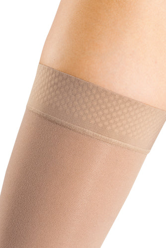 Mediven Forte, 30-40 mmHg, Thigh High, Beaded Silicone Band, Open Toe