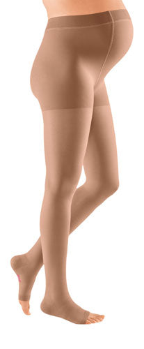 Mediven Plus, 30-40 mmHg, Maternity w/Adjustable Band, Open Toe | Maternity Stocking | Compression Care Center