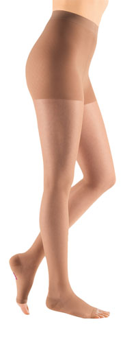 Mediven Sheer & Soft, 30-40 mmHg, Waist High, Open Toe