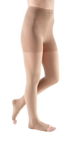 Mediven Comfort, 20-30 mmHg, Waist High w/Adjustable Band, Open Toe