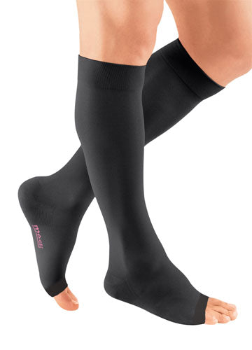 Mediven Plus, 20-30 mmHg, Knee High w/Extra Wide Calf, Open Toe | Men's Compression Stocking | Compression Care Center
