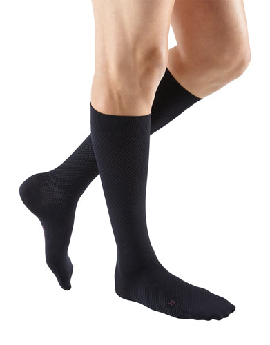 Mediven for Men Select, 15-20 mmHg, Knee High, Extra-Wide Calf, Closed Toe